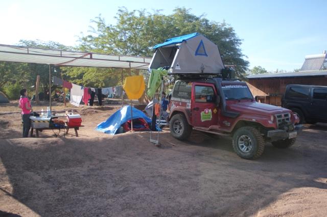 Camping a 30 reais por pessoa - no Centro de San Pedro
